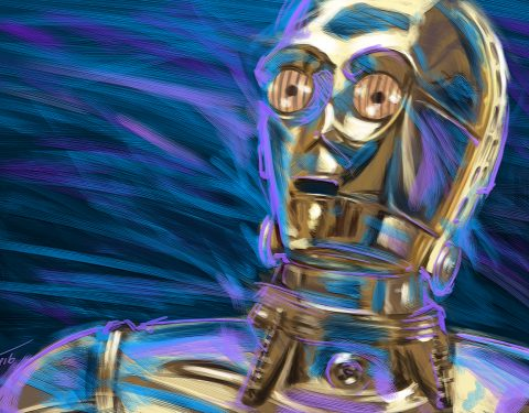 Digital Painting: Star Wars