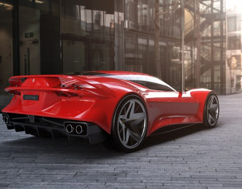 Ferrari Daytona Concept 2020